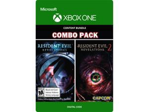 Resident Evil Revelations 1 & 2 Bundle Xbox One [Digital Code]