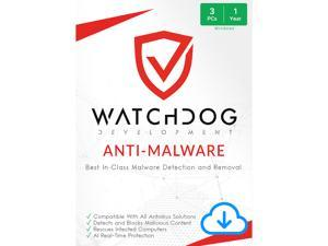 Watchdog Anti-Malware |PC | 3 Users | 1 Year  | Download