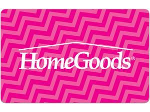 HomeGoods $50 Gift Card (Email Delivery)