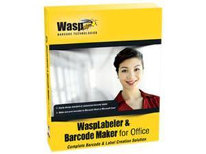 Wasp WaspLabeler & Barcode Maker for Office (1 User License)