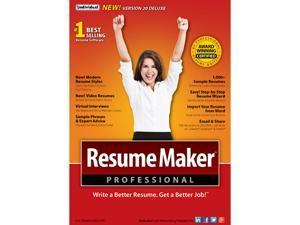 Individual Software ResumeMaker Professional Deluxe 20 [Download]