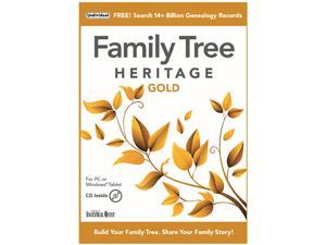 Individual Software Family Tree Heritage Gold - Download