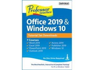Individual Software Professor Teaches Office 2019 & Windows 10 - Download