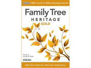 Individual Software Family Tree Heritage Gold 16