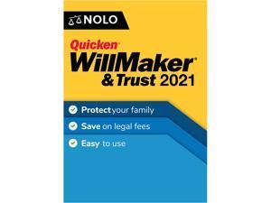 Quicken WillMaker & Trust 2021for Windows & MAC