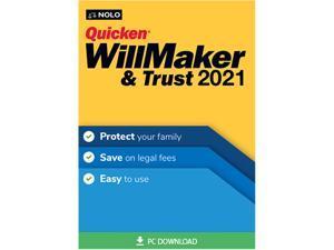 Nolo Quicken WillMaker & Trust 2021 for Windows - Download