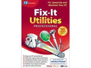 Avanquest Fix-It Utilities Pro 15 - Download