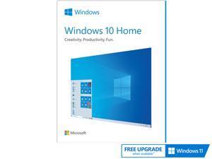 Microsoft Windows 10 Home - Full Retail Version (USB Flash Drive)
