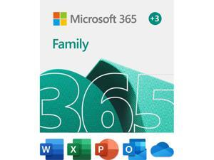 Microsoft 365 Family | 15-Month Subscription, up to 6 people | Premium Office apps | 1TB OneDrive cloud storage | PC/Mac Download