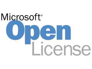 Microsoft SQL Server - License - 1 user CAL - Open License - Win - Single Language