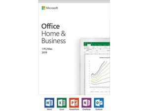 Microsoft Office Home & Business 2019 (PC/Mac) - 1 User - French