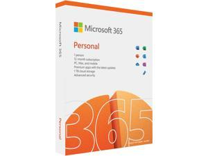 Microsoft 365 Personal   12-Month Subscription, 1 Person   Premium Office Apps   1TB OneDrive Cloud Storage   PC/Mac Keycard