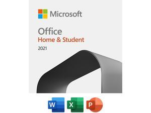 Microsoft Office Home & Student 2021 | One time purchase, 1 device | Windows 10/11 PC/Mac Download