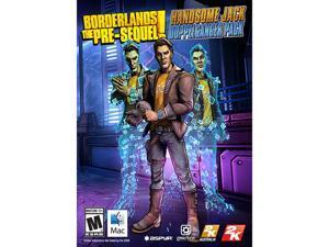Borderlands: The Pre-Sequel Handsome Jack Pack for Mac [Online Game Code]