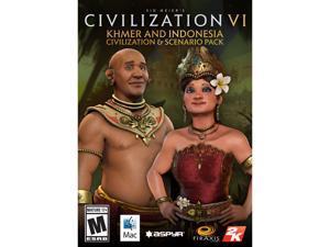 Sid Meier's Civilization VI - Khmer and Indonesia Civilization & Scenario Pack (MAC) [Online Game Code]