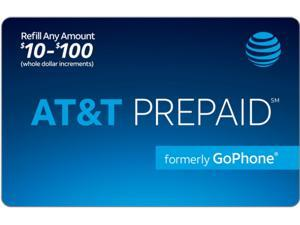 AT&T Prepaid Wireless $65 Refill Card (Email Delivery)