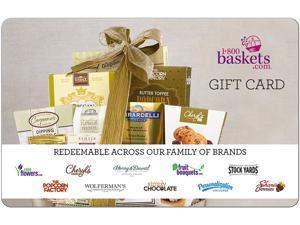1-800 Baskets $10 Gift Card (Email Delivery)