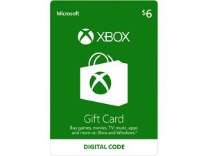 Xbox Gift Card $6 US (Email Delivery)