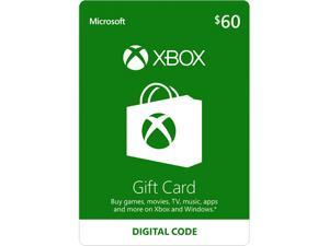 Deals on $60 Microsoft Xbox Gift Card Email Delivery