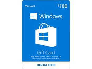 Xbox Gift Card $100 US (Email Delivery) - Newegg com
