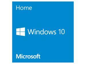 Deals on Microsoft Windows 10 Home 64-Bit Software (OEM)