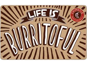 Chipotle $50 Gift Card (Email Delivery)