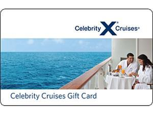 Celebrity Cruises $100 Gift Card (Email Delivery)