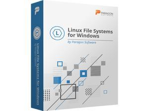 Paragon Linux File Systems for Windows - Download