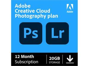 Adobe - Creative Cloud Photography Plan 20GB (1-User) (1-Year Subscription) - Mac, Windows [Digital]