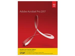 Acrobat Pro 2017 Student & Teacher (Verification Required) - Mac Download
