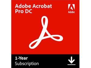 Adobe Acrobat Pro DC for Windows & Mac - Digital Membership [Prepaid 1 Year]