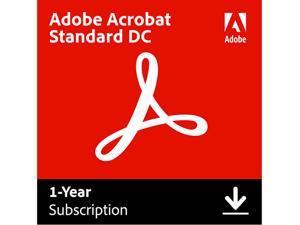 Adobe Acrobat Standard DC for Windows - Digital Membership [Prepaid 1 Year]