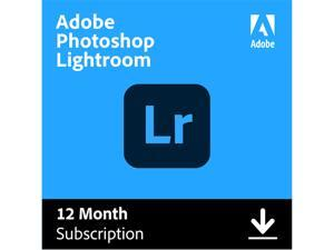 Adobe - Photoshop Lightroom CC (1 Year Subscription) - Mac, Windows [Digital]