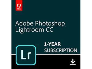 Adobe Photoshop Lightroom CC Plan - 1 Year Subscription (PC/MAC Digital)