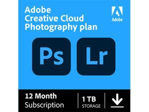 Adobe - Creative Cloud Photography Plan 1TB (1-Year Subscription) - Mac, Windows, iOS [Digital]