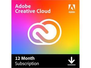 Adobe - Creative Cloud (1-Year Subscription) - Mac, Windows, iOS [Digital]
