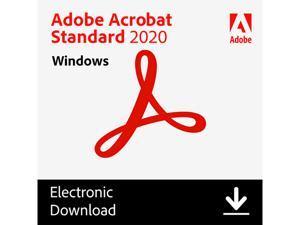 Adobe Acrobat Standard 2020 - Windows Download