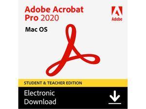 Adobe Acrobat Pro 2020 Student & Teacher (Verification Required) - MAC Download