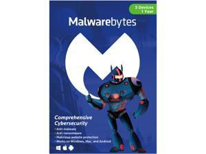 Malwarebytes Anti-Malware 3.0 - 3 PCs / 1 Year (Key Card)