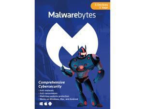 Malwarebytes Anti-Malware 3.0 - 5 Device / 1 Year [Key Card]