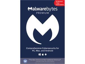 Malwarebytes Premium 4.0 - 1 Year / 10 Devices - Key Card