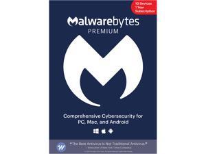 Malwarebytes Premium - 10 Devices / 1 Year [Key Card]