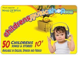 Childrens Music Shop $10 Gift Card (Email Delivery)