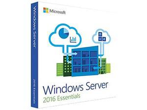Microsoft G3S-00936 Windows Server 2016 Essentials 64-bit - Retail Box Pack - 1 Processor