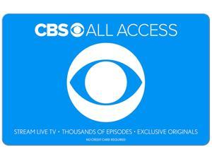 CBS All Access $25 Gift Card (Email Delivery)