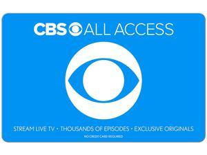 CBS All Access $100 Gift Card (Email Delivery)