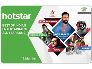 Hotstar Annual Pack Gift Card (Email Delivery)