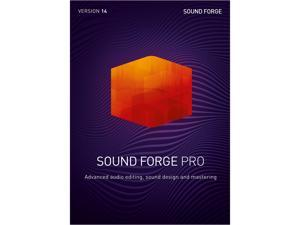 MAGIX SOUND FORGE Pro 14 - Download (Attach Only)