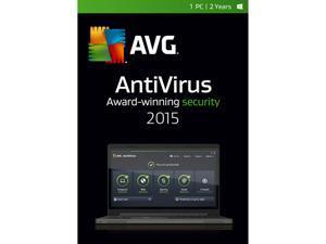 AVG AntiVirus 2015 - 1 PC / 2 Years