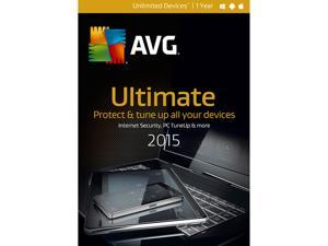 AVG Ultimate 2015 - Unlimited Devices / 1 Year